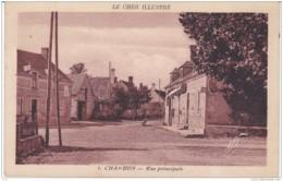 CHER CHAMBON RUE PRINCIPALE - Francia