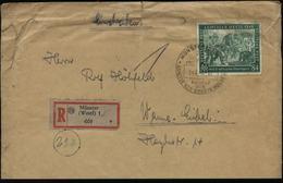 S3001 All. Besetzung 84 Pfg Leipzig Messe Auf R - Briefumschlag: Gebraucht Mit Sonderstempel Münster - Wanne Eickel 19 - Gemeinschaftsausgaben