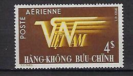 "Viet-Sud Aerien YT 9 (PA) "" 4pi Brun "" 1953 Neuf** MNH - Viêt-Nam"