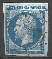 FRANCE - Oblitération Petits Chiffres LP 1457 GRIGNOLS (Gironde) - 1849-1876: Période Classique