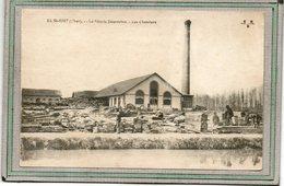 CPA - SAINT-JUST (18) - Aspect Des Chantiers, Stocks De Bois, De La Scierie Desroches En 1918 - Other Municipalities