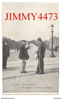 CPA - Les Petits Métiers Parisiens - Le Marchand De Plans De Paris En 1908 - Edit. BISCUITS GERMAIN à LYON - Fliegende Händler