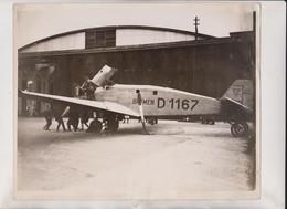 ATLANTIC FLYERS BRACE BAD WEATHER MONOPLANE BREMEN GERMAN CAPTAIN KOCHL IRISH FREE 25*20CM Fonds Victor FORBIN 1864-1947 - Aviación