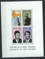 Cameroun Bloc N°5** (MNH) 1968 - Apôtres De La Non-violence - Cameroun (1960-...)