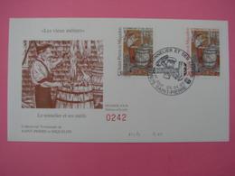 Enveloppe 1er Jour SPM/Saint Pierre Et Miquelon FDC N°242 LE TONNELIER Oblitération 05.04.1995 - St.Pierre Et Miquelon