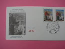 Enveloppe 1er Jour SPM/Saint Pierre Et Miquelon FDC N°529 LE TRANCHEUR DE MORUE Oblitération 7.4.1993 - St.Pierre Et Miquelon