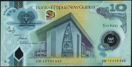 PAPUA NEW GUINEA - 10 Kina 2010 {35th Anniversary Of Independence 1975-2010} {Polymer} UNC P.40 - Papoea-Nieuw-Guinea