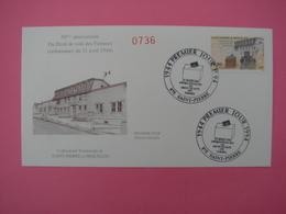 Enveloppe 1er Jour SPM/Saint Pierre Et Miquelon FDC N°736 50ème Anniv. Droit De Vote Des Femmes Oblitération 21.4.1994 - St.Pierre Et Miquelon