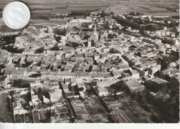 26 - Très Belle Carte Postale Semi Moderne Dentelée De PIERRELATTE   Vue Aérienne - Other Municipalities