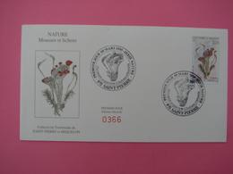 Enveloppe 1er Jour SPM/Saint Pierre Et Miquelon FDC N°366 MOUSSES & LICHENS Oblitération 8.3.1995 - Cartas