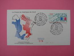 Enveloppe 1er Jour SPM/Saint Pierre Et Miquelon FDC N°574 France En Amérique Du Nord Oblitération 830.9.1998 - St.Pierre Et Miquelon