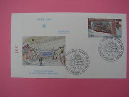 Enveloppe 1er Jour SPM/Saint Pierre Et Miquelon FDC N°231 NOEL 1995 Oblitération 22.11.1995 - St.Pierre Et Miquelon
