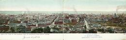 "M08443 "" BIRD'S EYE VIEW OF THE BUSINESS PART OF CINCINNATI FROM MUNT ADAMS ""  -CARTOLINA ORIG. SPED.1904 - Cincinnati"