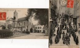 VILLEFRANCHE DE ROUERGUE ( 12 ) -  2 Cpa - Villefranche De Rouergue