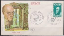 Frankreich 1969 FDC MiNr.1671 Persöhnlichkeiten Andre Gide( D 5029 )günstige Versandkosten - FDC
