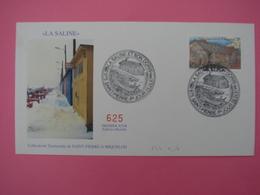 Enveloppe 1er Jour FDC SPM/Saint Pierre Et Miquelon. La SALINE ET SON DORIS Oblitération 9.04.1997 - St.Pierre Et Miquelon
