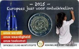 Belgio - 2 Euro 2015 - Anno Europeo Per Lo Sviluppo  !!! - Belgio