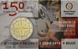 BELGIQUE - 2 Euro 2014 - Les 150 Ans De La Croix-Rouge De Belgique - Disponibles!! - Bélgica