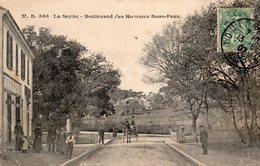 83 LA SEYNE BOULEVARD DES HOMMES SANS PEUR ANIMEE COIFFEUR ATTELAGE - La Seyne-sur-Mer