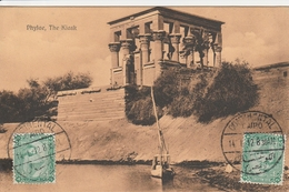 Egypte Cachet Continental Cairo Sur Carte Postale Pour La France 1912 - Egypt