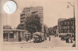 92 - Très Belle Carte Postale Ancienne De VANVES    Rue De La République - Vanves