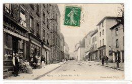 060819///CP Ancienne Du RHONE.....COURS  AVEC COMMERCE SANEROT - Non Classés