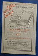 Etablissements H. Morin : Bloc-agenda - 1924 - Autres Collections