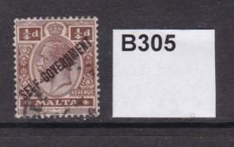 Malta 1922 ¼d - Malta (...-1964)