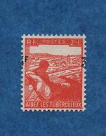 """FRANCE -VARIETE - 1946- N+- 3 F Sur 2f + 1  - Surcharge Tres Décalée  ( Signé Au Verso ) """""""" Yvert N° 750 - Curiosities: 1945-49 Mint/hinged"""