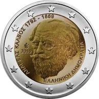 GRIECHENLAND 2 Euro 2019 - 150. Todestag Des Dichters Andreas Kalvos - UNC - Grèce