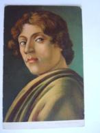 Tableau Schilderij Alessandro Bottichelli Gelopen Circulée 1905 Gand - Artistes