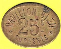 Nécessité - Jeton De Bal - PAVILLON BLEU à SURESNES (92) - Monétaires / De Nécessité