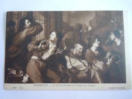 Le Christ Chassant Les Vendeurs Du Temple Jezus Verjaagt De Handelaars Par Rombouts LL 314 Musée D'Anvers Belgique - Jésus