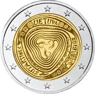 LITHUANIA 2 EURO 2019 - Lithuanian Folk Songs (Sutartinės) - UNC Quality - Lithuania