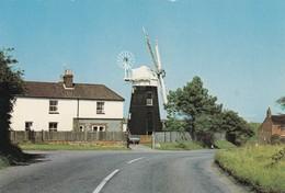 Postcard Paston Mill Mundesley On Sea Norfolk Windmill Interest My Ref  B13487 - Windmills