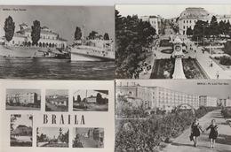 19 / 8 / 192. -  LOT. DE. 13. CPSM  DE. BRÄILA - Roumanie