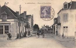 18-LOYE- PLACE ET GRANDE RUE - France