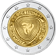 LITUANIE 2 Euro 2019 - Chansons Folkloriques Lituaniennes (Sutartinės) - UNC - Lituanie