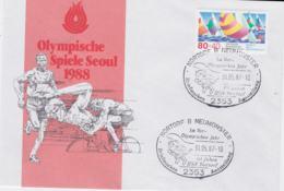 Germany Cover 1987 Nortorf B Neumünster Im Vorolympischen Jahr (G101-20) - Verano 1988: Seúl
