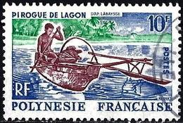 French Polynesia 1966 - Mi 56 - YT 36 ( Canoë ) - Frans-Polynesië