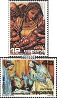 Spanien 2750-2751 (kompl.Ausg.) Postfrisch 1986 Weihnachten - 1931-Heute: 2. Rep. - ... Juan Carlos I