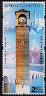 Turkey - 2019 - Historic Clock Towers - Buyuk Clock Tower - Mint Stamp - Nuevos
