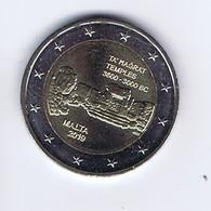 Malta - 2 Euro Commemorativo 2019 - Templi Di Ta' Hagrat - Malta