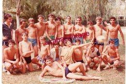 Photo Ancienne - Portrait D'homme En Maillot De Bain - Man Boy Garçon Demi Nu Semi Nude Sexy Gay Interest,13X9 CMS - Personas Anónimos