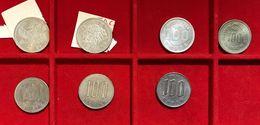 GIAPPONE Japan 100 Yen 1964 Olimpic Games + 1975 Expo + Phenix +rice +1968-73-80 D.6937-6943 - Giappone