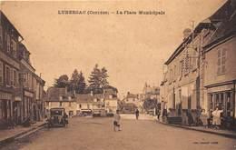 19-LUBERSAC- LA PLACE MUNICIPALE - France