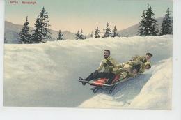 SUISSE - SPORTS D'HIVER - WINTERSPORT - Bobsleigh - Wintersport