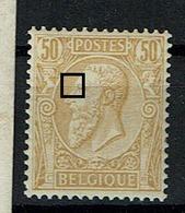 50  **  Cu  Balle Blanche Devant Oeil - 1884-1891 Léopold II