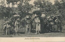 Guatemala   Indios Comerciantes Leger Pli Coin Inf . Gauche . Light Crease Bottom Left Corner - Guatemala
