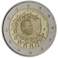 Luxemburg - 2 Euro Gedenkmünze 2015 - EU-Flagge - UNC Aus Rolle - Luxembourg
